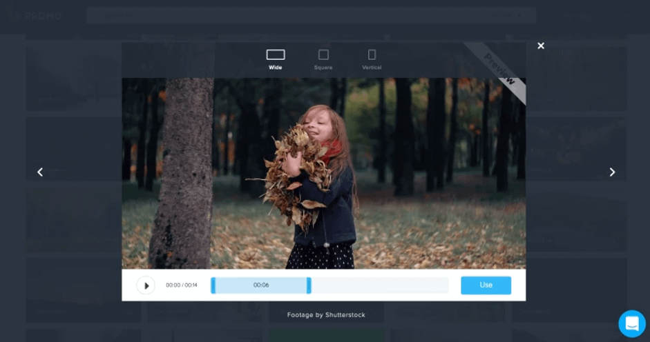 Shutterstock editor in action