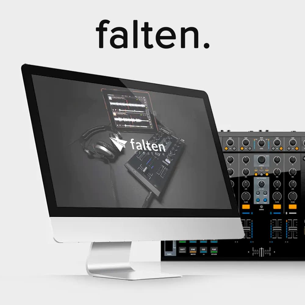 Falten website design