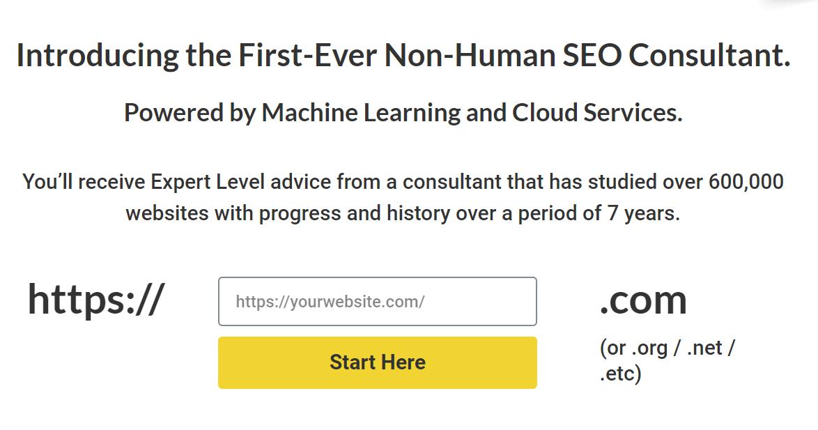 A screenshot of squirrly.co's SEO WordPress plugin solution.
