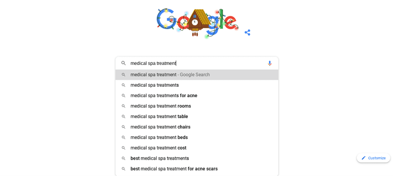 One effective way to do keyword research is to use the Google keyword autosuggest tool.