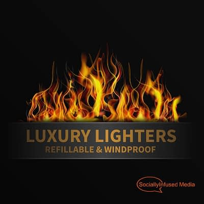 Luxury Lighters logo design